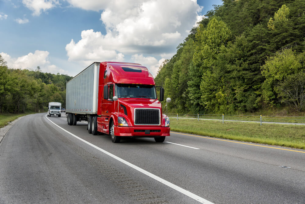 These are four common reasons for truck accidents.
